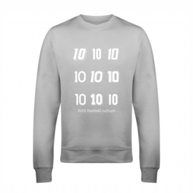 Voetbal sweater - nummers 10