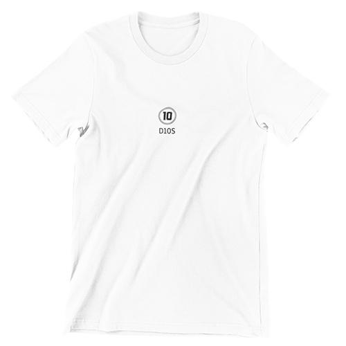 Voetbalshirt D10S logo Maradona smal