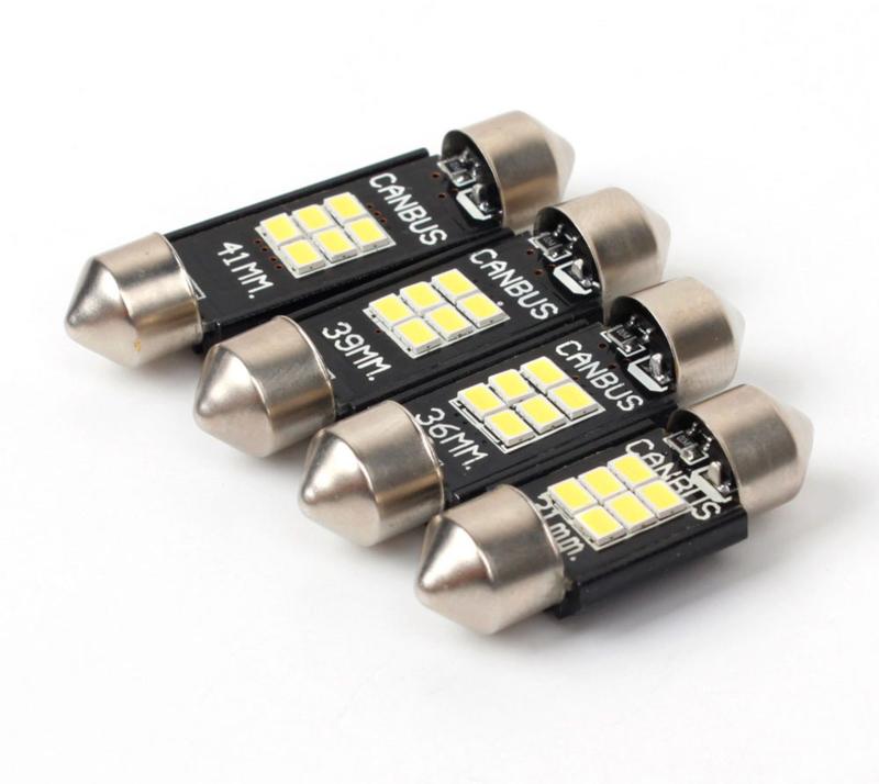 LED BUISLAMPJES (DIV. LENGTE'S)