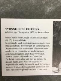 Yvonne oude Elferink Aquarel