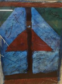 Lex Grote Acryl op papier (1958)