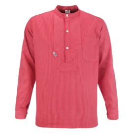 Vissershemd BasicLine met smalle strepen