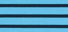 Bretonse streep hoofdband Lichtblauw - Marineblauw