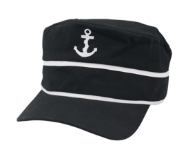 Baseball-Cap Anker Zwart