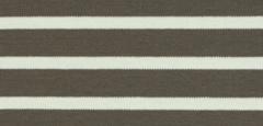 Bretonse streep hoofdband Taupe - Ecru