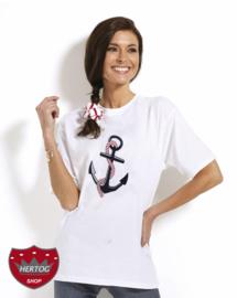 Maritiem T-shirt met Anker