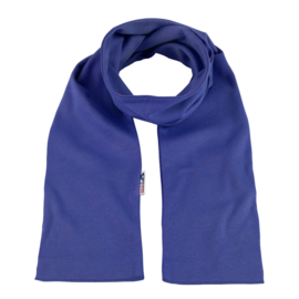 Katoenen sjaal 140x15 cm   Royalblue