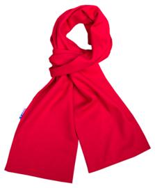 Katoenen sjaal 140x15 cm   Donkerrood