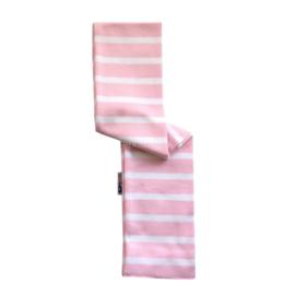 Bretonse babysjaal Roze - Wit