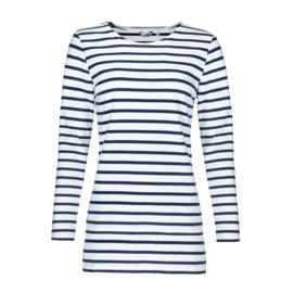Bretons damesshirt lang model