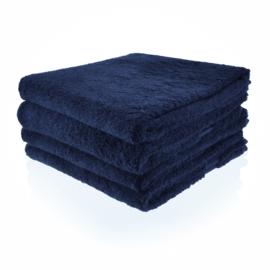 Handdoek met naam of tekst - Donkerblauw