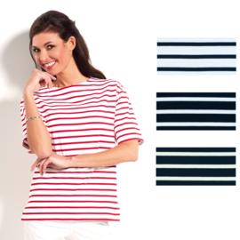 Bretons dames T-shirt boothals