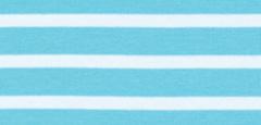 Bretonse streep hoofdband Aqua - Wit
