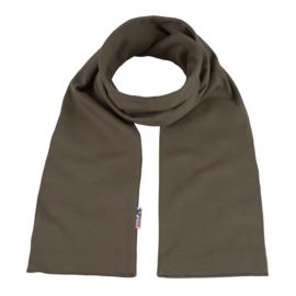 Katoenen sjaal 140x15 cm   Taupe
