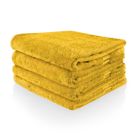 Handdoek met naam of tekst - Oker