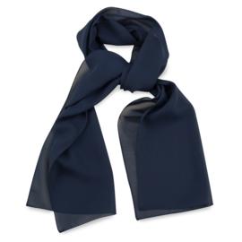 Sjaal Premium Lang Marineblauw