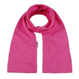 Katoenen sjaal 140x15 cm   Fuchsia