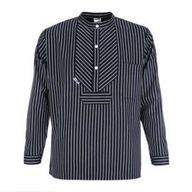 Vissershemd BasicLine met brede strepen