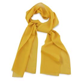 Sjaal Premium Lang Geel