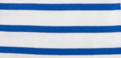 Bretonse streep hoofdband Wit - Royalblue