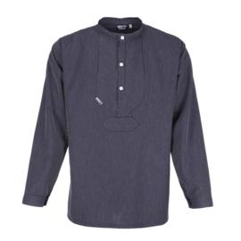 Vissershemd met smalle strepen