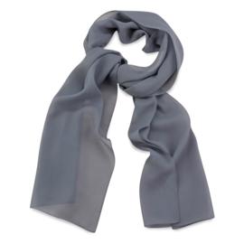 Sjaal Premium Lang Grijs
