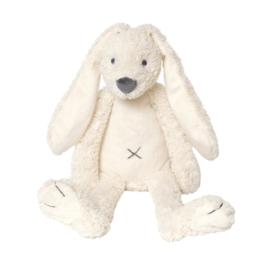 Rabbit Richie Tiny Wit met geborduurde naam