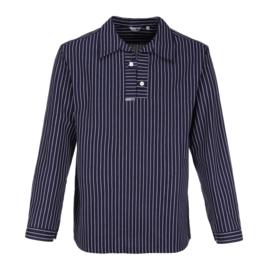Takelhemd, knoopsluiting, brede strepen
