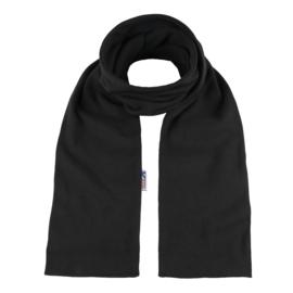 Katoenen sjaal 140x15 cm   Zwart