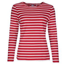 Bretons damesshirt ronde hals
