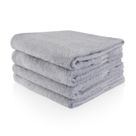 Handdoek met naam of tekst - Grijs