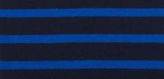 Bretonse streep hoofdband Marineblauw - Royalblue