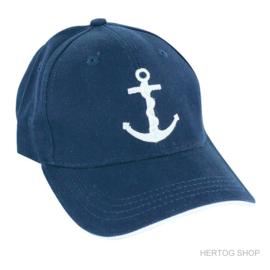 Baseball-Cap Anker Blauw