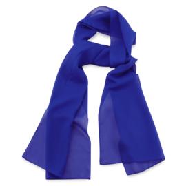 Sjaal Premium Lang Kobaltblauw