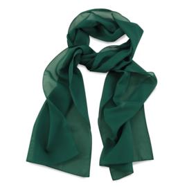 Sjaal Premium Lang Flessengroen