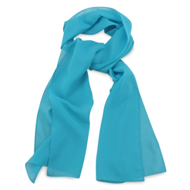 Sjaal Premium Lang Turquoise