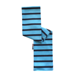 Bretonse babysjaal Lichtblauw - Marineblauw