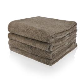 Handdoek met naam of tekst - Taupe