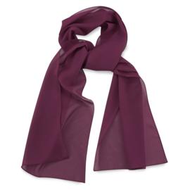 Sjaal Premium Lang Aubergine