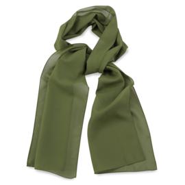 Sjaal Premium Lang Legergroen