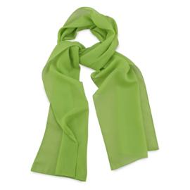 Sjaal Premium Lang Limegroen