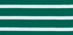 Bretonse streep hoofdband Groen - Wit