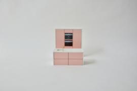 Keuken Set Roze