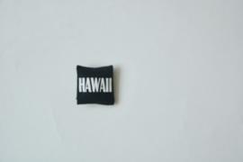 "Kussentje ""Hawaii"" black"
