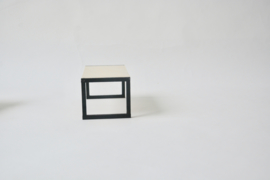 Tafel cube zwart