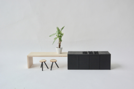 Kamerplant / plant witte pot