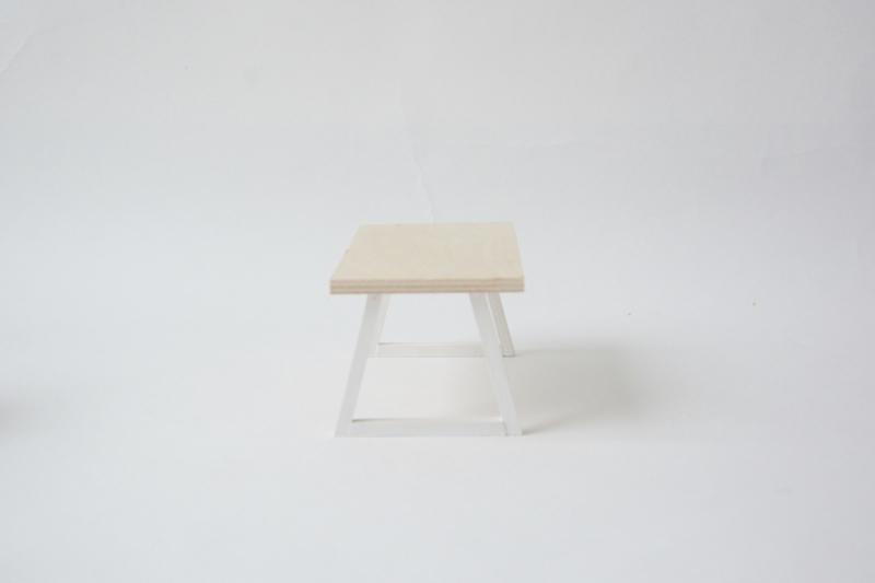 Design tafel wit