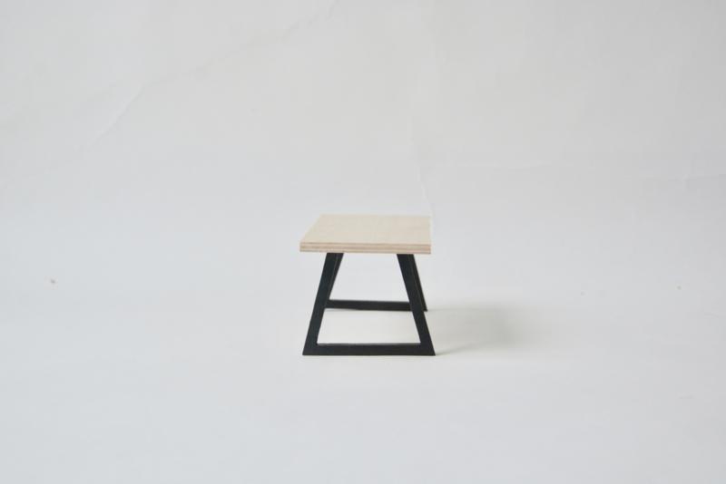 Design tafel zwart