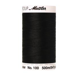 Naaigaren 500 meter ~ kleur 4000 (zwart)(Mettler Seralon)