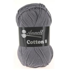 Cotton 8 kleur 58 (grijs)